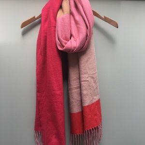 Gap Pink Color-block Scarf
